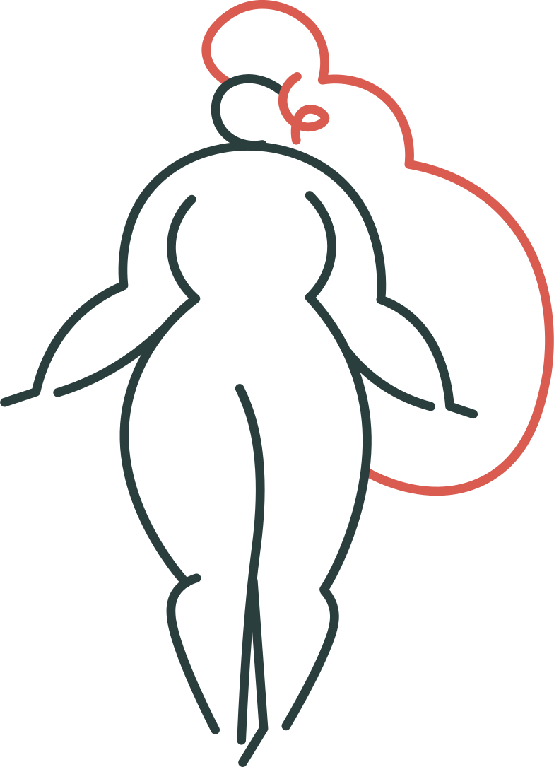 girl standing Clipart illustration in PNG, SVG