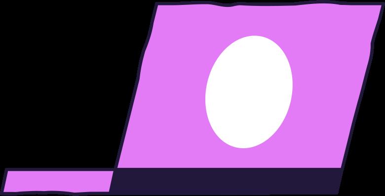 downloading  laptop Clipart illustration in PNG, SVG