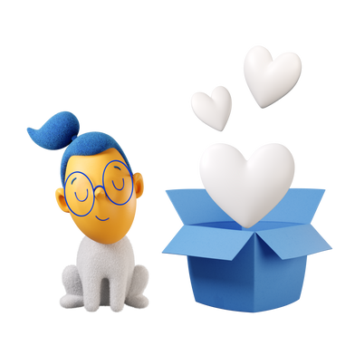 style Receiving love images in PNG and SVG | Icons8 Illustrations