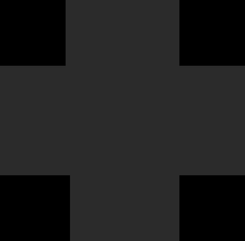 Illustration clipart Croix noire aux formats PNG, SVG