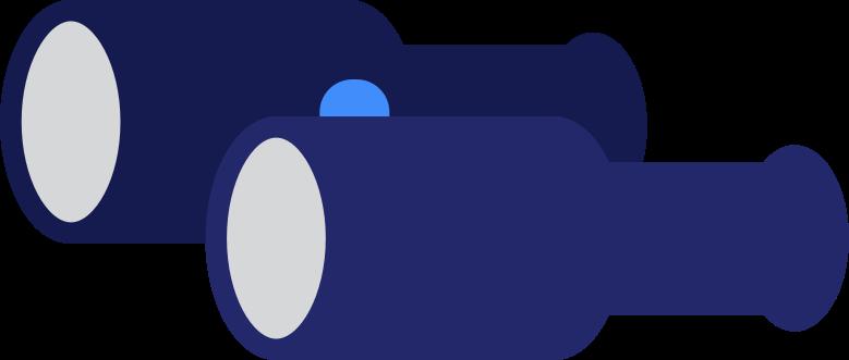 binoculars Clipart illustration in PNG, SVG