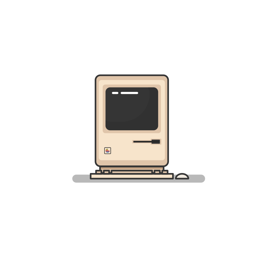 Macintosh Clipart illustration in PNG, SVG