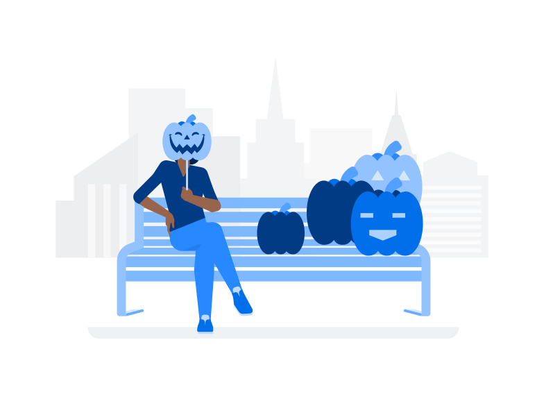 style Halloween Pumpkin Market Vector images in PNG and SVG | Icons8 Illustrations