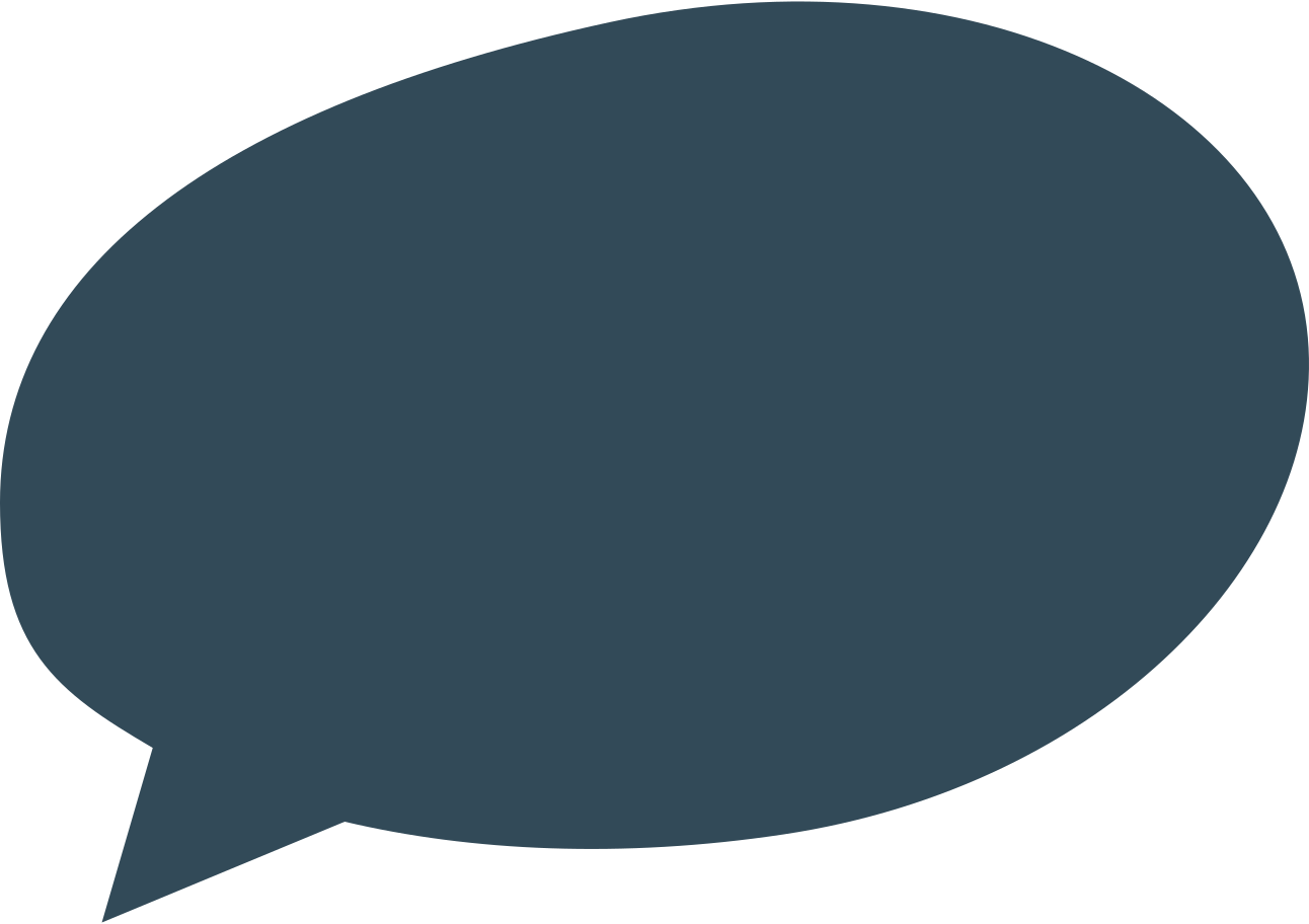 speach bubble 2 dark blue Clipart illustration in PNG, SVG