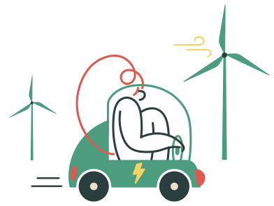 style Electric car images in PNG and SVG | Icons8 Illustrations