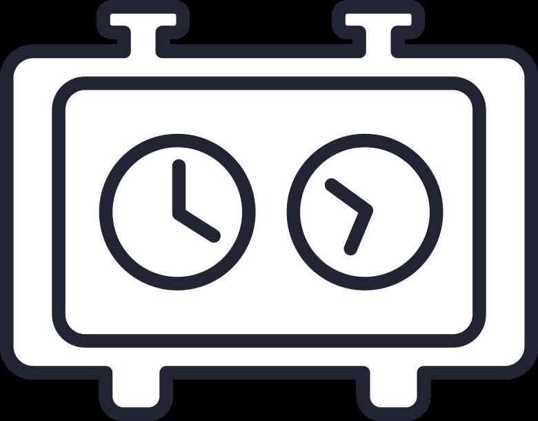 Ilustración de clipart de clock en PNG, SVG