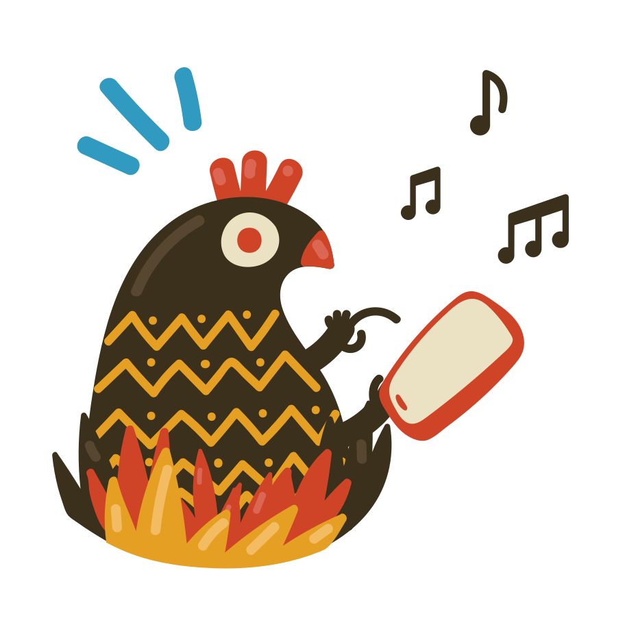 Listen to music Clipart illustration in PNG, SVG