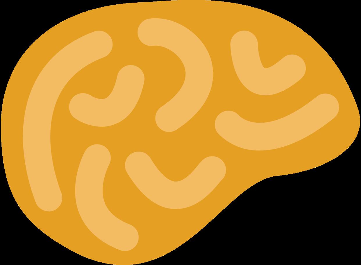 brain side Clipart illustration in PNG, SVG