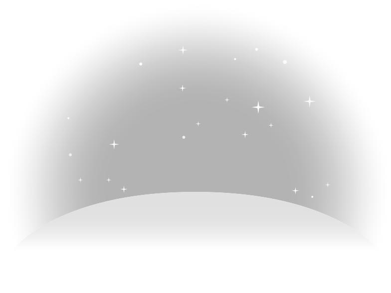 moon lanscape Clipart illustration in PNG, SVG