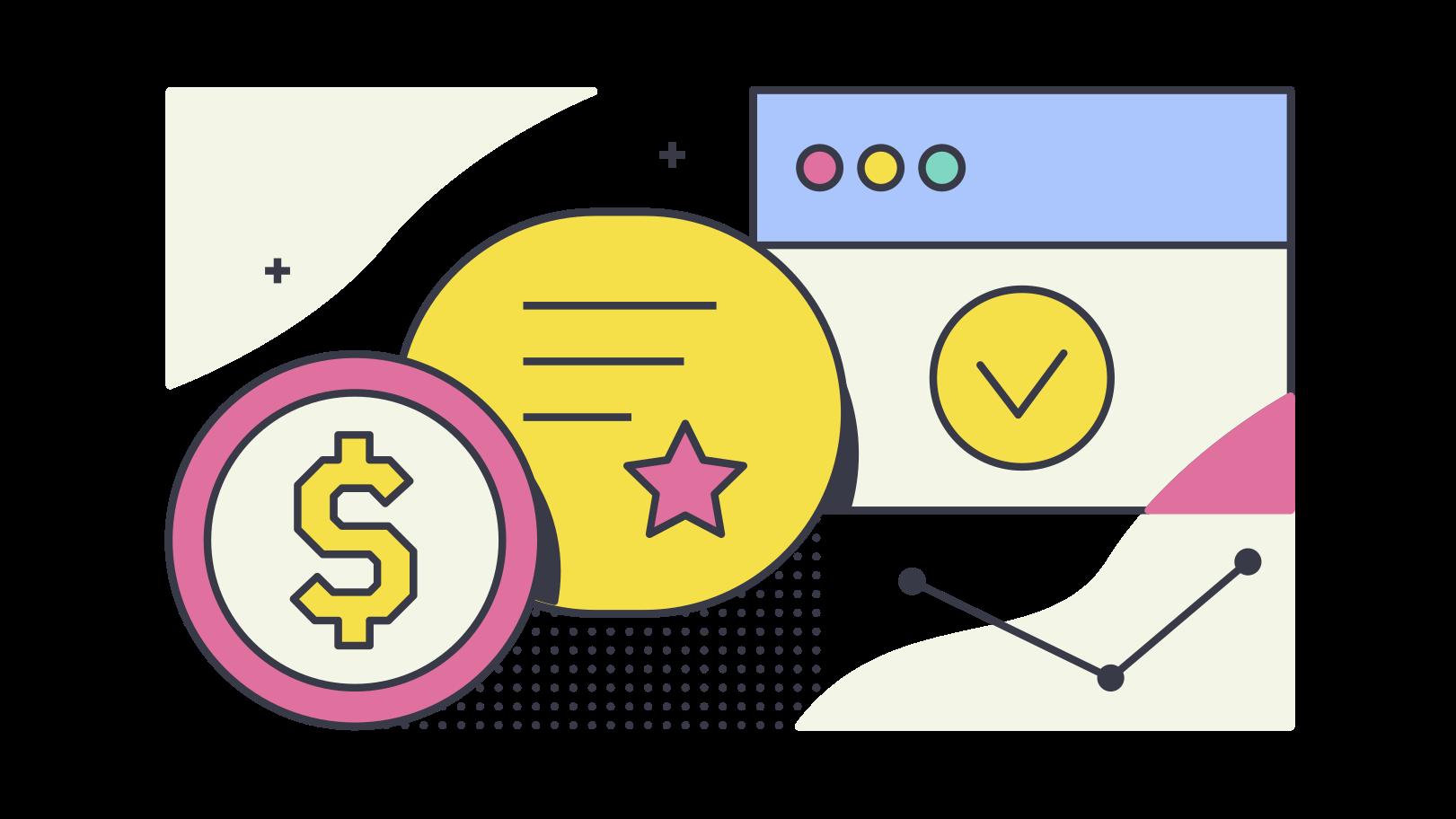 Online shopping Clipart illustration in PNG, SVG