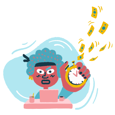 style Time is money images in PNG and SVG   Icons8 Illustrations