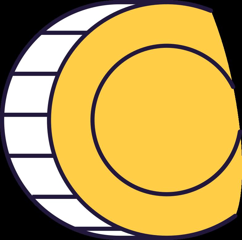 PNGとSVGの  スタイルの コイン ベクターイメージ | Icons8 イラスト