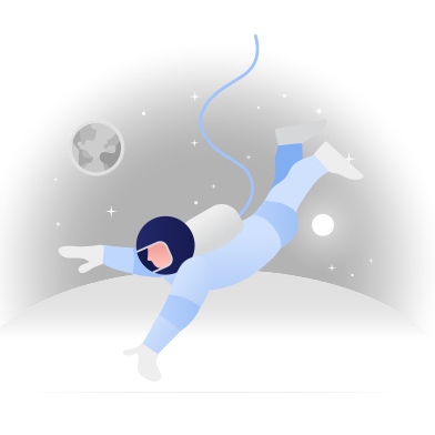 style Astronaut in the space images in PNG and SVG | Icons8 Illustrations
