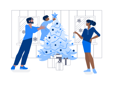 style Family Christmas images in PNG and SVG | Icons8 Illustrations