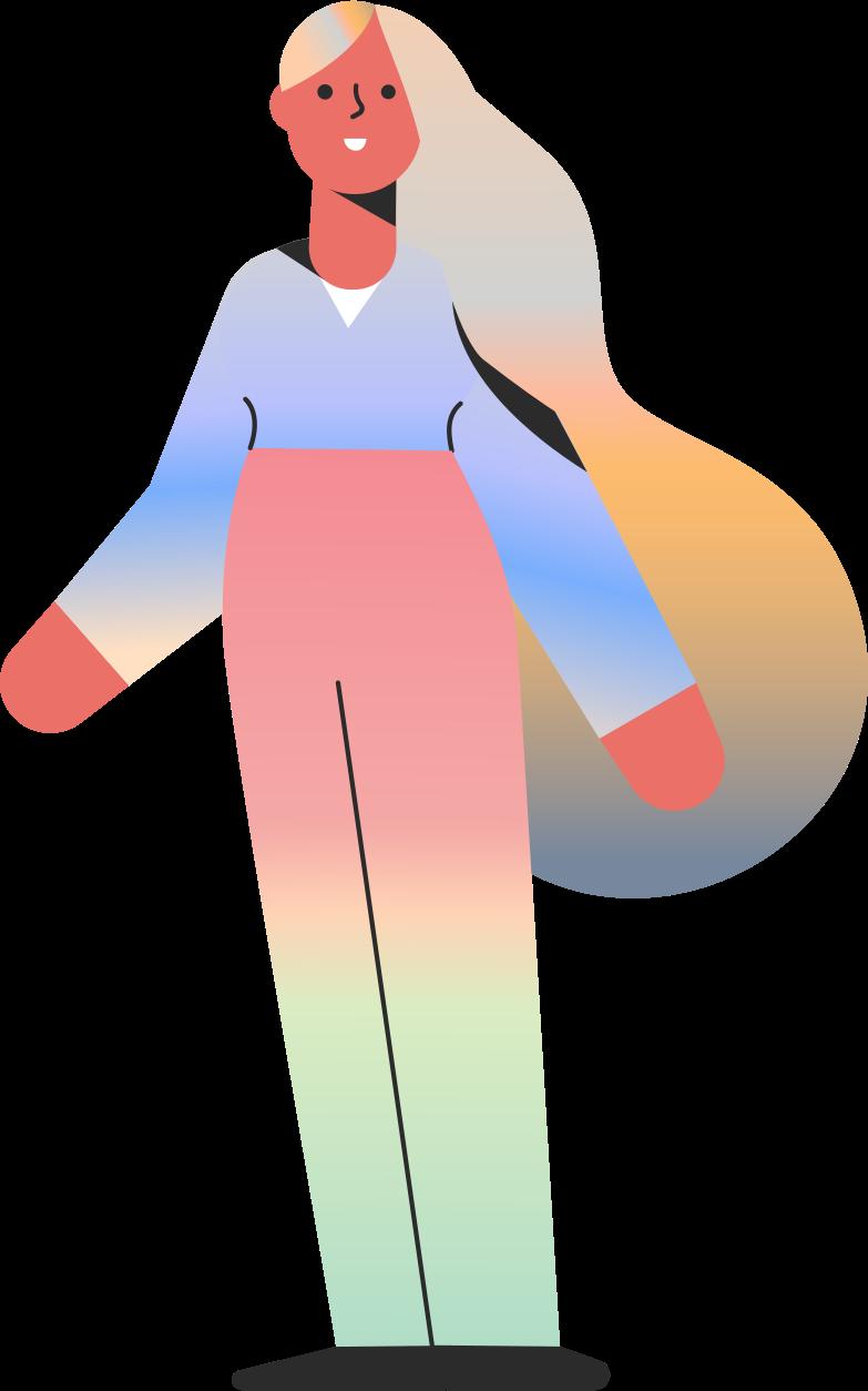 girl Clipart-Grafik als PNG, SVG