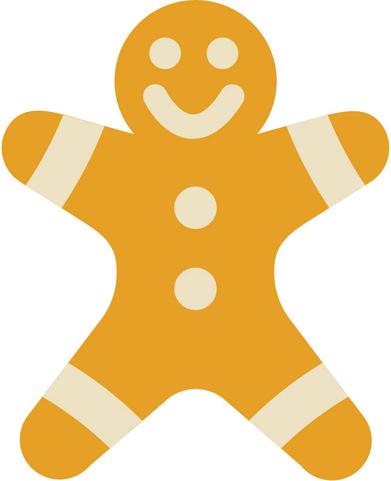 cookie man Clipart illustration in PNG, SVG