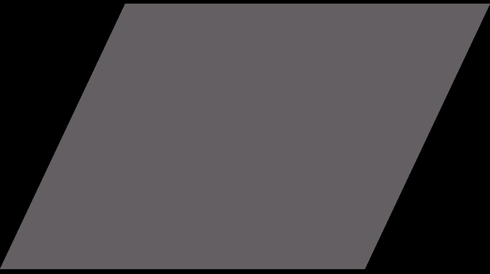 parallelogram grey Clipart illustration in PNG, SVG