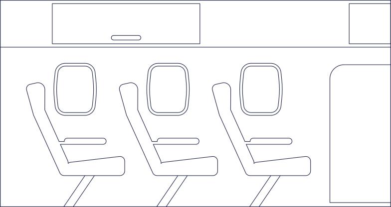 Imágenes vectoriales fondo del interior del avión en PNG y SVG estilo  | Ilustraciones Icons8