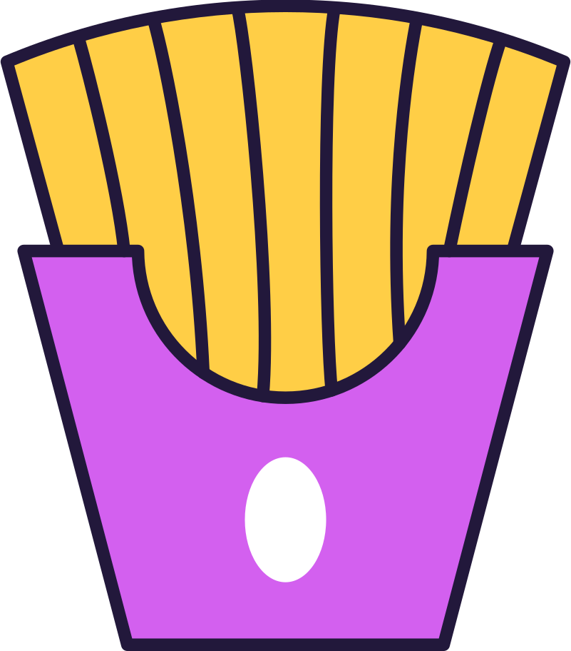 style fries Vector images in PNG and SVG | Icons8 Illustrations