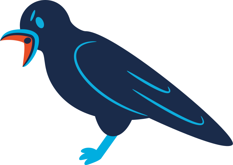 style raven screaming Vector images in PNG and SVG | Icons8 Illustrations
