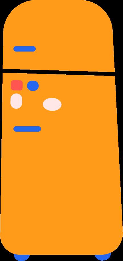 refrigerator Clipart illustration in PNG, SVG