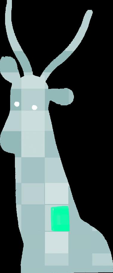 antelope Clipart illustration in PNG, SVG