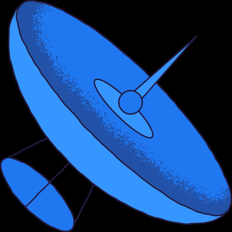 Illustration clipart antenne aux formats PNG, SVG