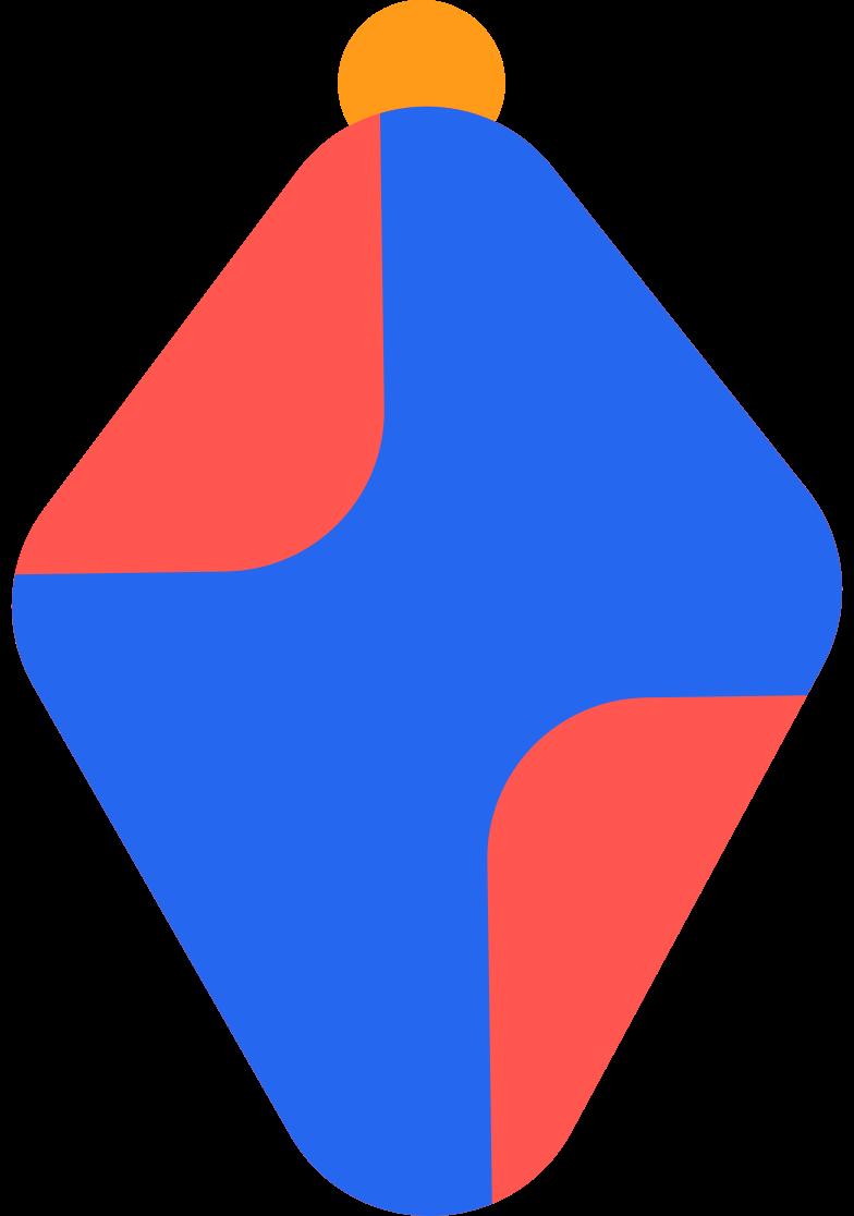 Ilustração de clipart de bola de natal em PNG e SVG
