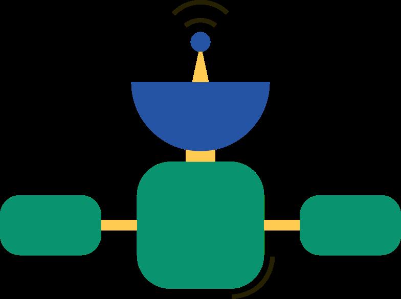 orbital station Clipart illustration in PNG, SVG