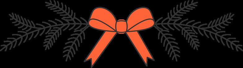 Ilustración de clipart de Decoración navideña en PNG, SVG