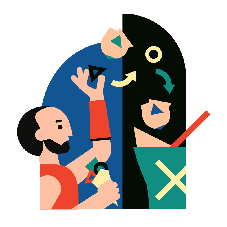 Deleting a file Clipart illustration in PNG, SVG