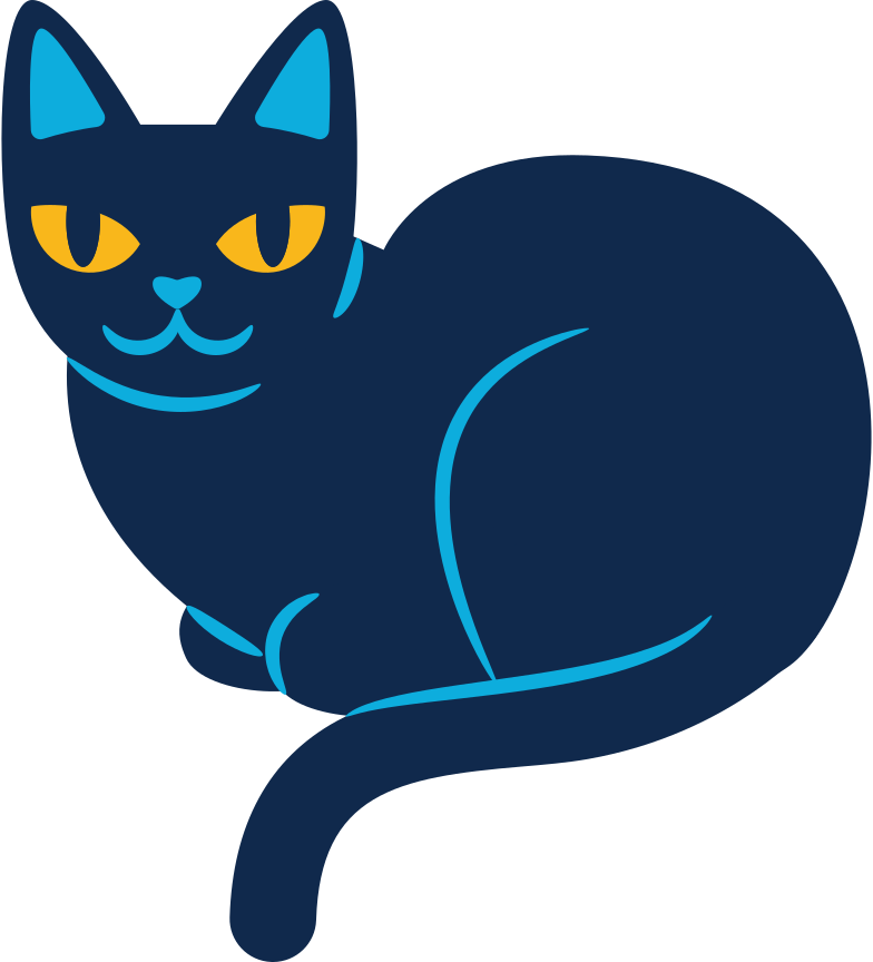 style black cat Vector images in PNG and SVG | Icons8 Illustrations