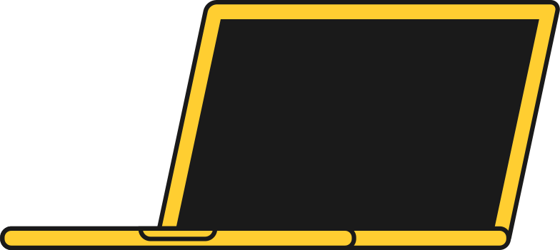 laptop pc front Clipart illustration in PNG, SVG