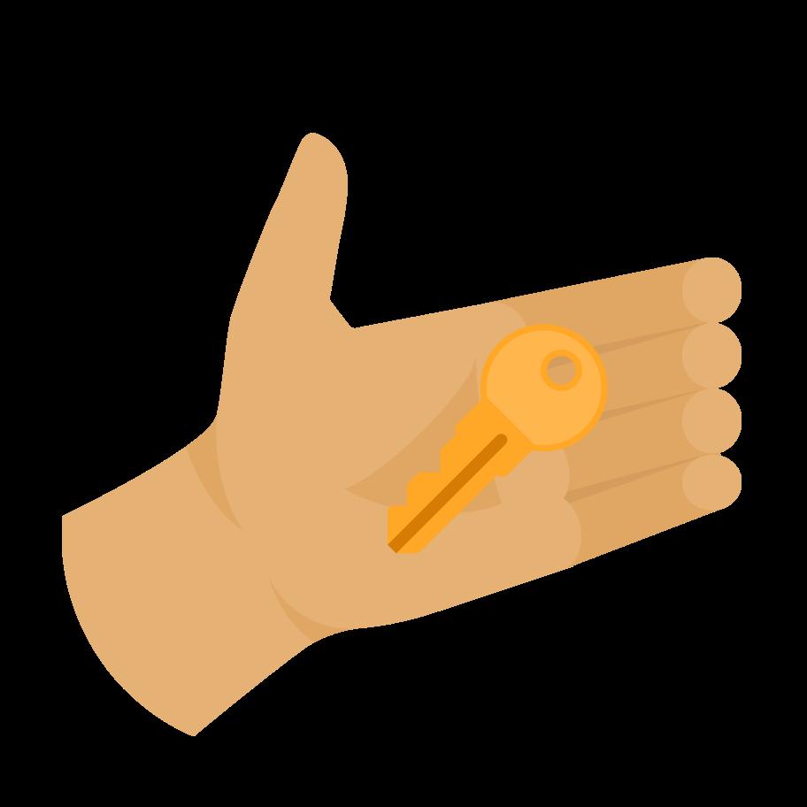 Ilustração de clipart de Chave em PNG e SVG