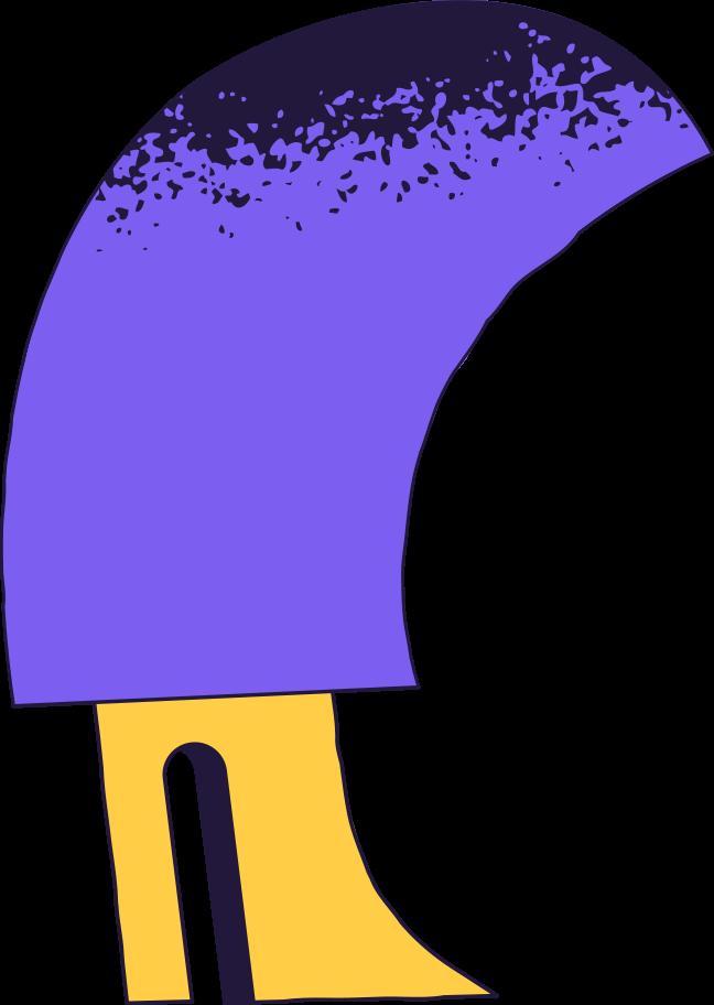 Ilustración de clipart de Página no encontrada pierna en PNG, SVG