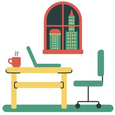 style Workplace images in PNG and SVG   Icons8 Illustrations