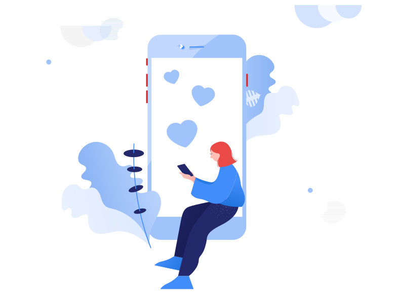 Love messages Clipart illustration in PNG, SVG