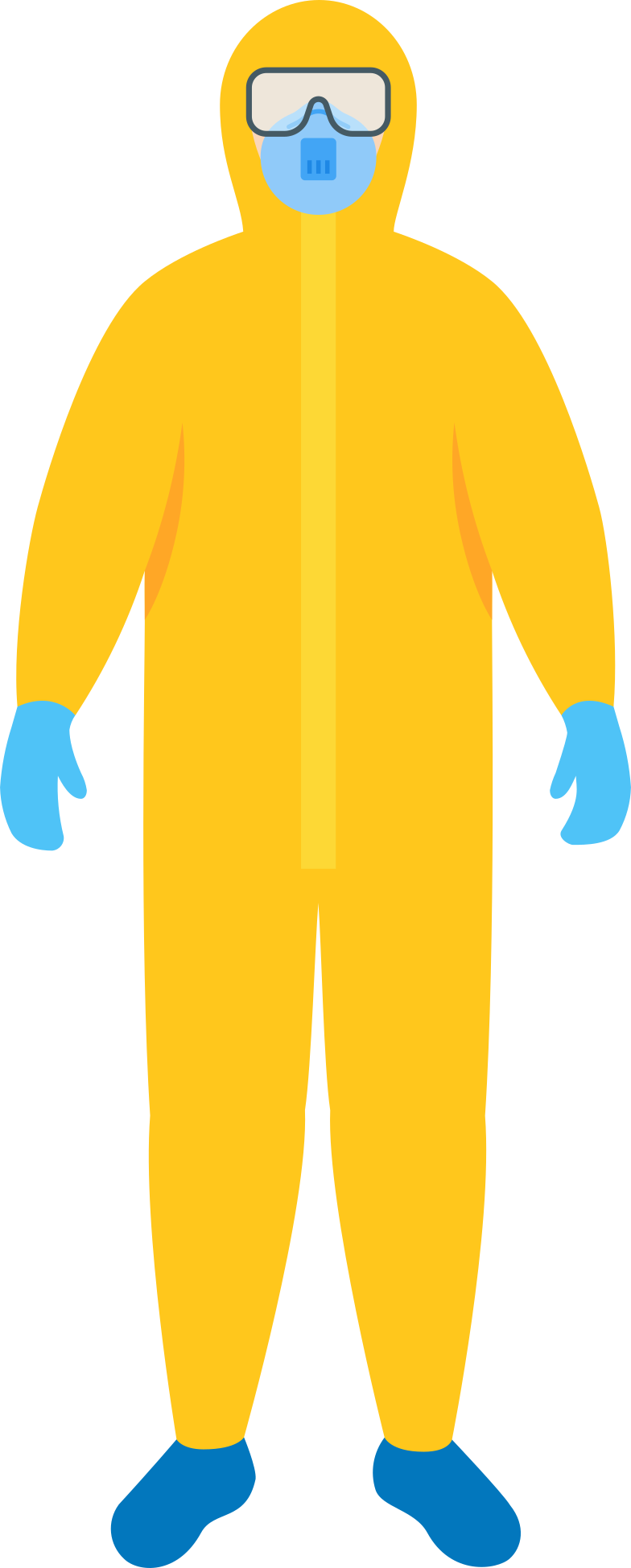man-in-protective-suit-with-safety-mask-and-goggles Clipart illustration in PNG, SVG