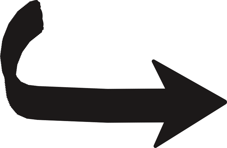 black arrow down Clipart illustration in PNG, SVG