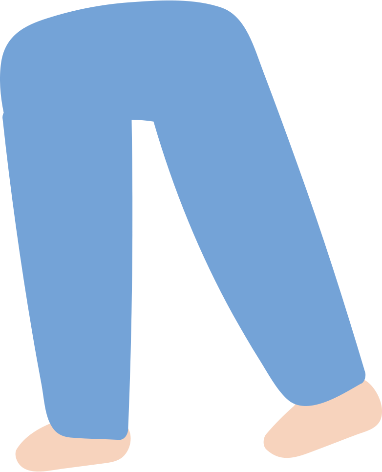 legs- Clipart illustration in PNG, SVG