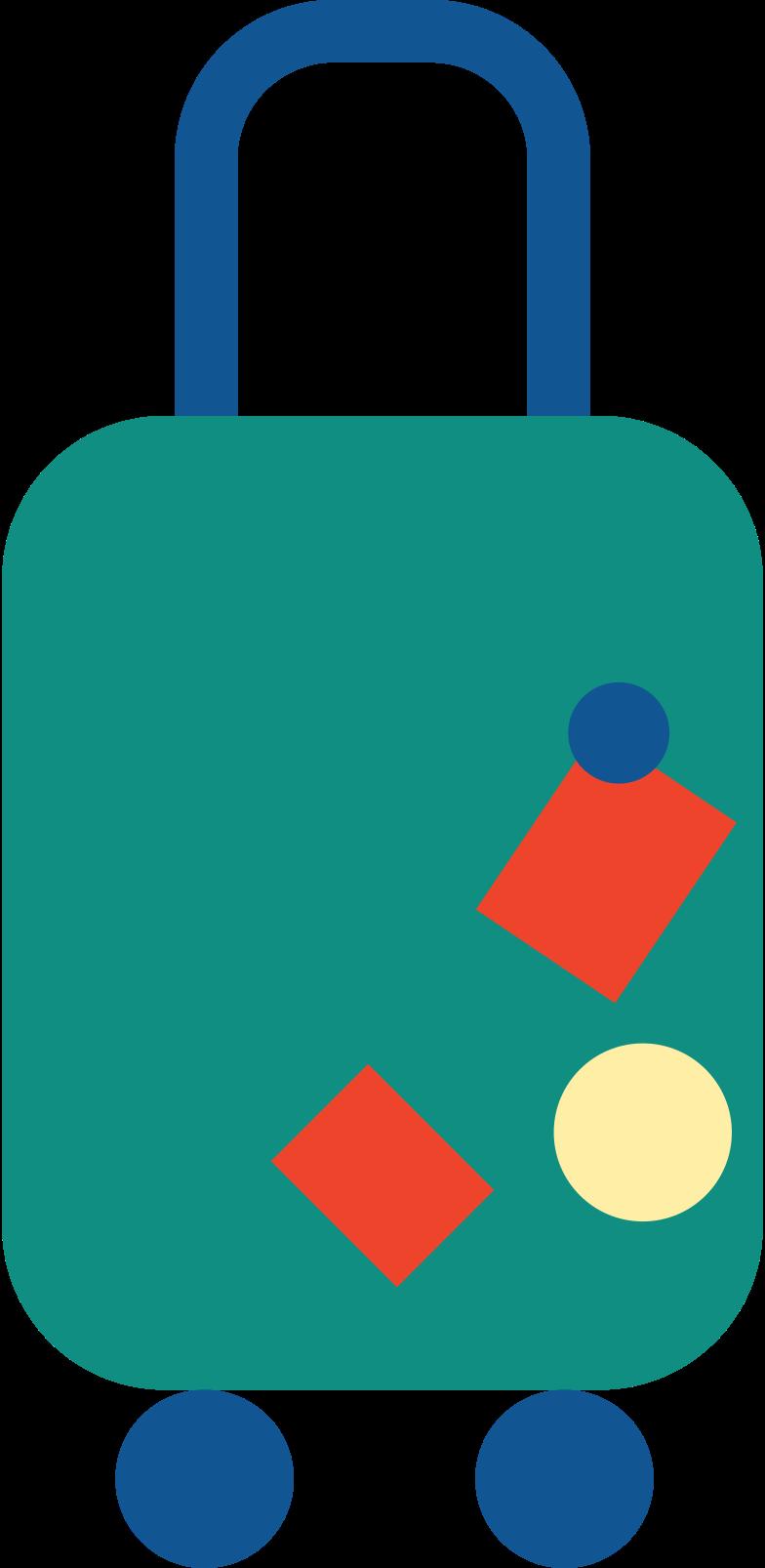 suitecase Clipart illustration in PNG, SVG