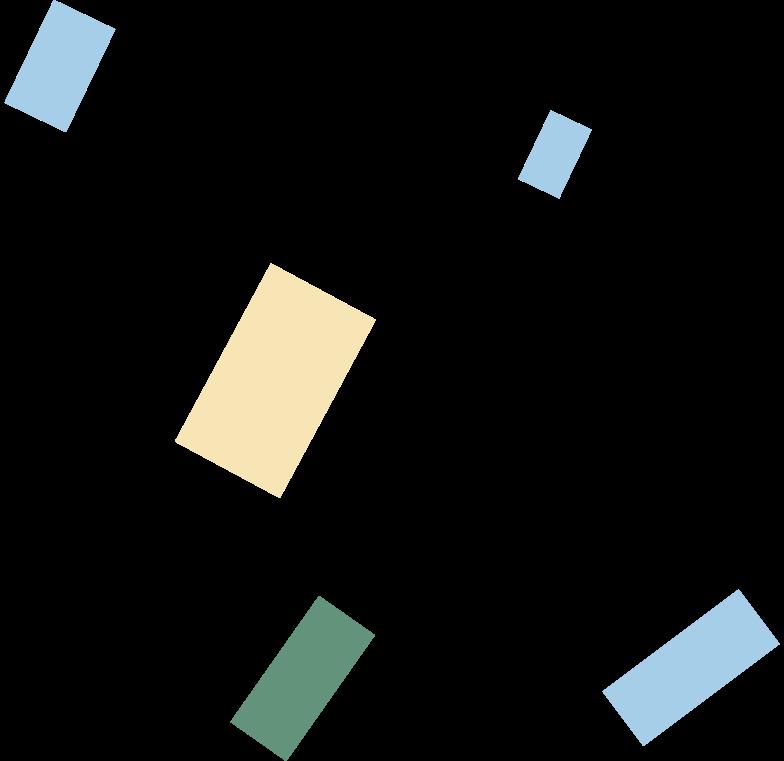 Ilustração de clipart de confetti em PNG e SVG