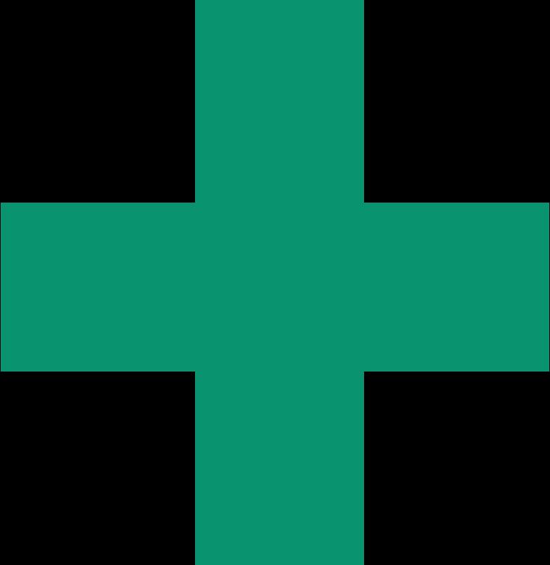 medical cross Clipart illustration in PNG, SVG