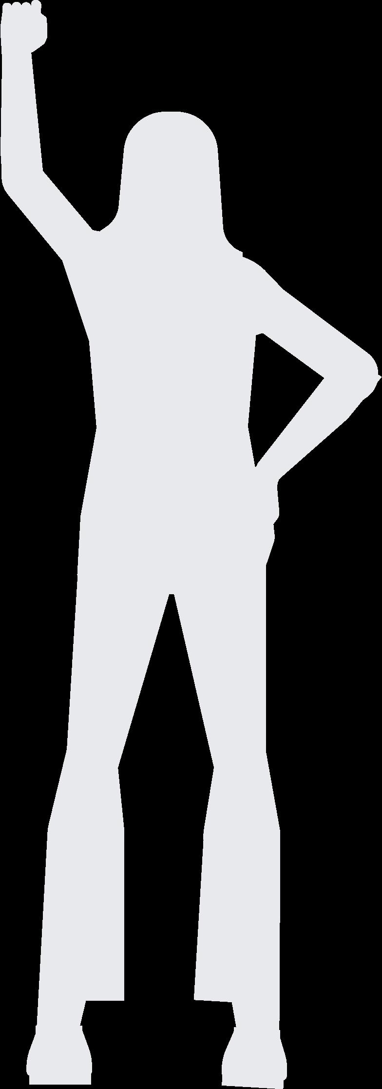 Ilustración de clipart de fondo mujer en PNG, SVG