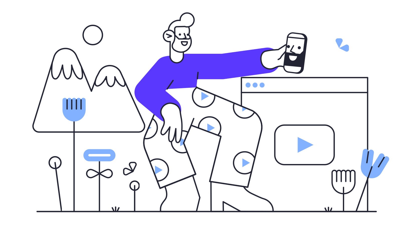 Blogging Clipart illustration in PNG, SVG