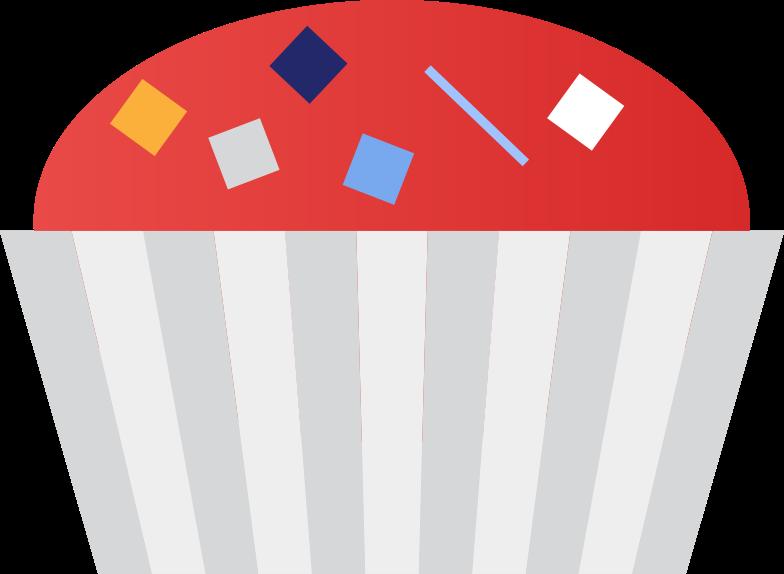 Kuchen Clipart-Grafik als PNG, SVG