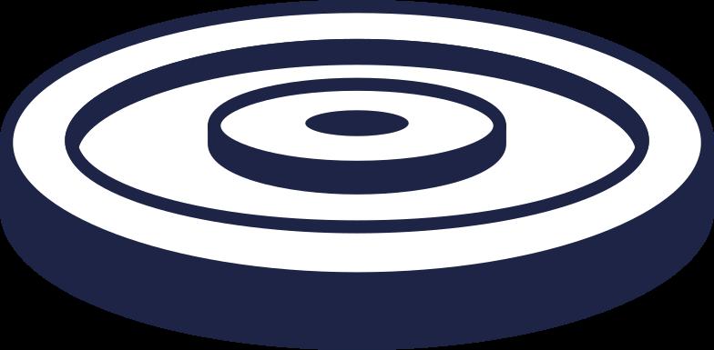 done  disc for barbell 2 line Clipart illustration in PNG, SVG