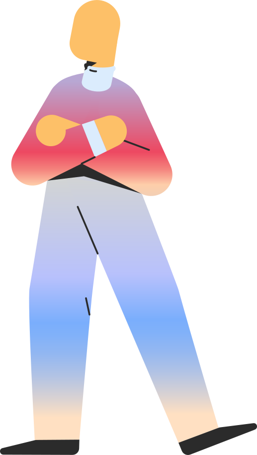 adult standing Clipart illustration in PNG, SVG