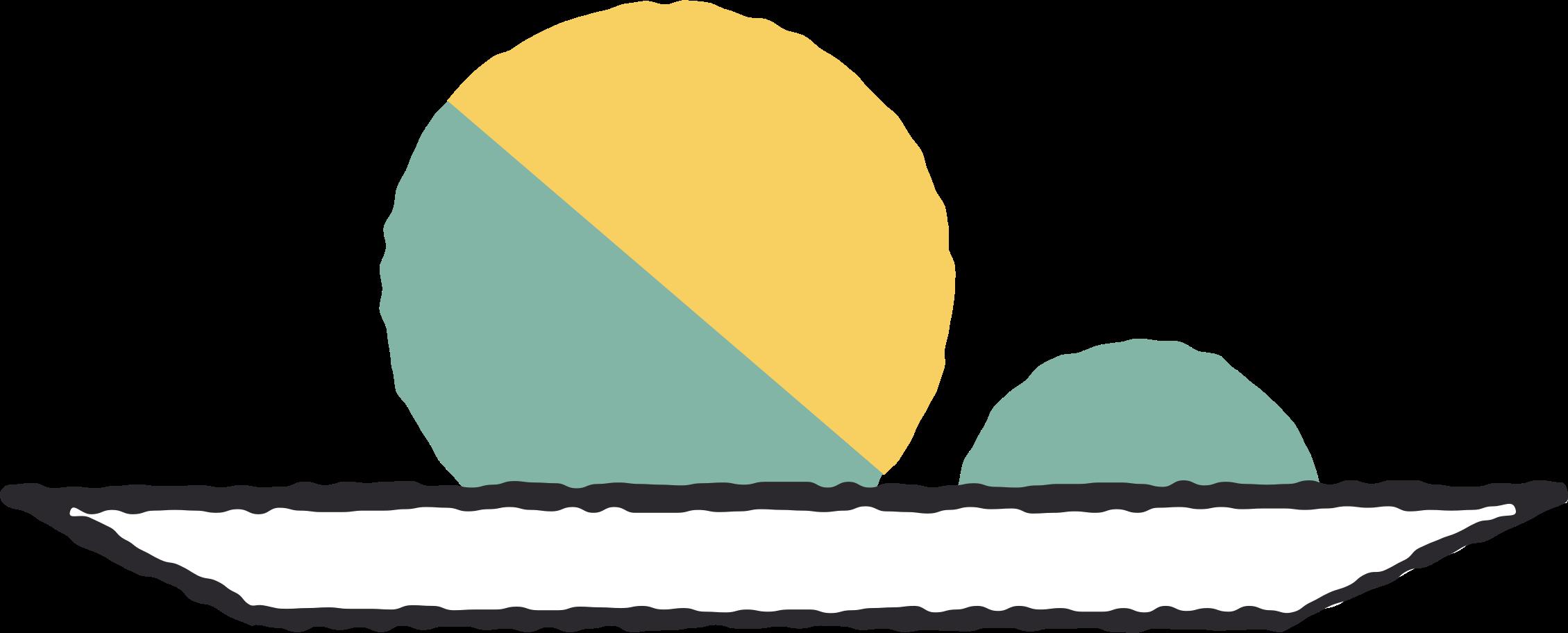 Teller Clipart-Grafik als PNG, SVG