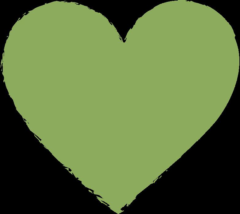 heart-dark-green Clipart illustration in PNG, SVG